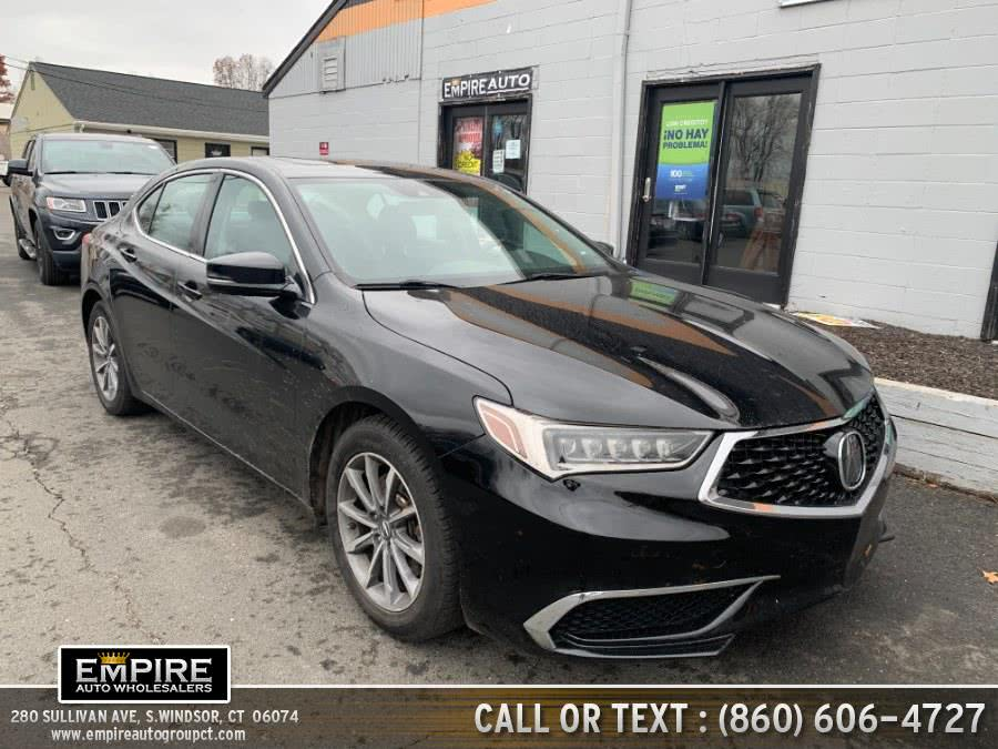 Used 2018 Acura TLX in S.Windsor, Connecticut | Empire Auto Wholesalers. S.Windsor, Connecticut