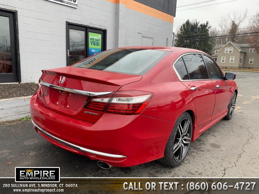 Used Honda Accord Sedan 4dr I4 CVT Sport 2016 | Empire Auto Wholesalers. S.Windsor, Connecticut