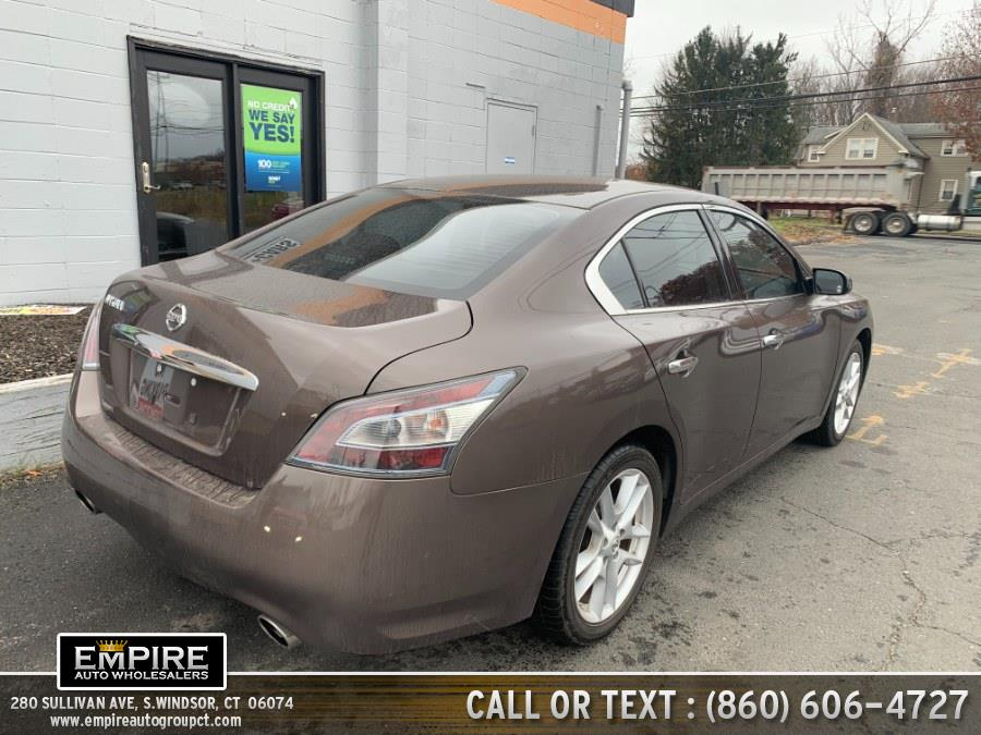 Used Nissan Maxima 4dr Sdn 3.5 SV w/Sport Pkg 2014 | Empire Auto Wholesalers. S.Windsor, Connecticut