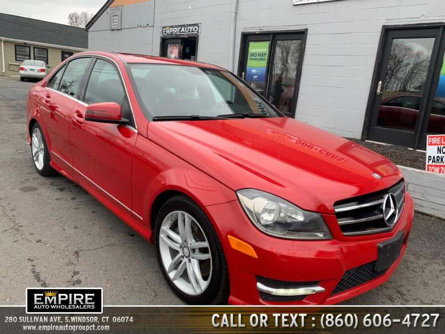Used Mercedes-Benz C-Class AWD 2014 | Empire Auto Wholesalers. S.Windsor, Connecticut