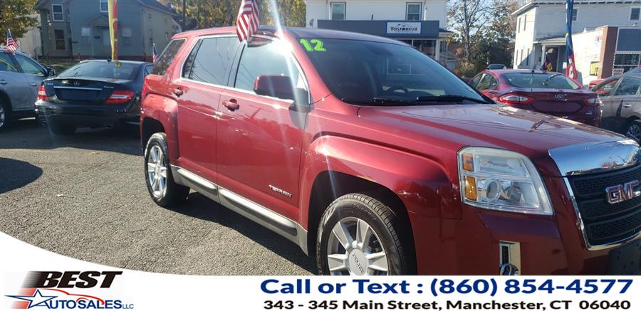 Used GMC Terrain AWD 4dr SLE-1 2012 | Best Auto Sales LLC. Manchester, Connecticut
