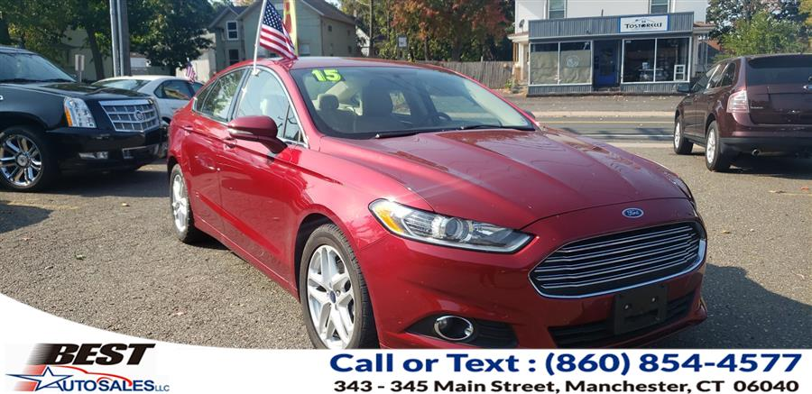 Used Ford Fusion 4dr Sdn SE FWD 2015 | Best Auto Sales LLC. Manchester, Connecticut