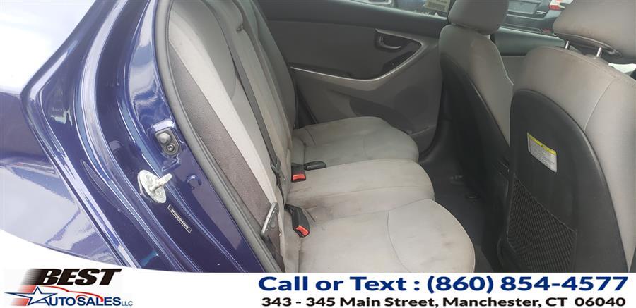 Used Hyundai Elantra 4dr Sdn Auto GLS 2013 | Best Auto Sales LLC. Manchester, Connecticut