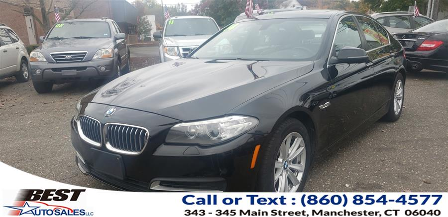 Used BMW 5 Series 4dr Sdn 528i xDrive AWD 2014   Best Auto Sales LLC. Manchester, Connecticut