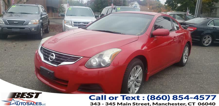 Used Nissan Altima 2dr Cpe I4 CVT 2.5 S 2011 | Best Auto Sales LLC. Manchester, Connecticut