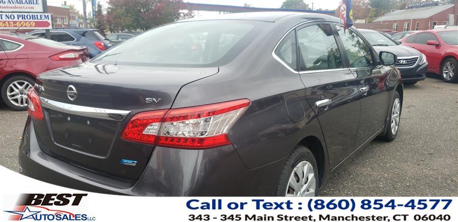 Used Nissan Sentra 4dr Sdn I4 CVT SV 2013 | Best Auto Sales LLC. Manchester, Connecticut