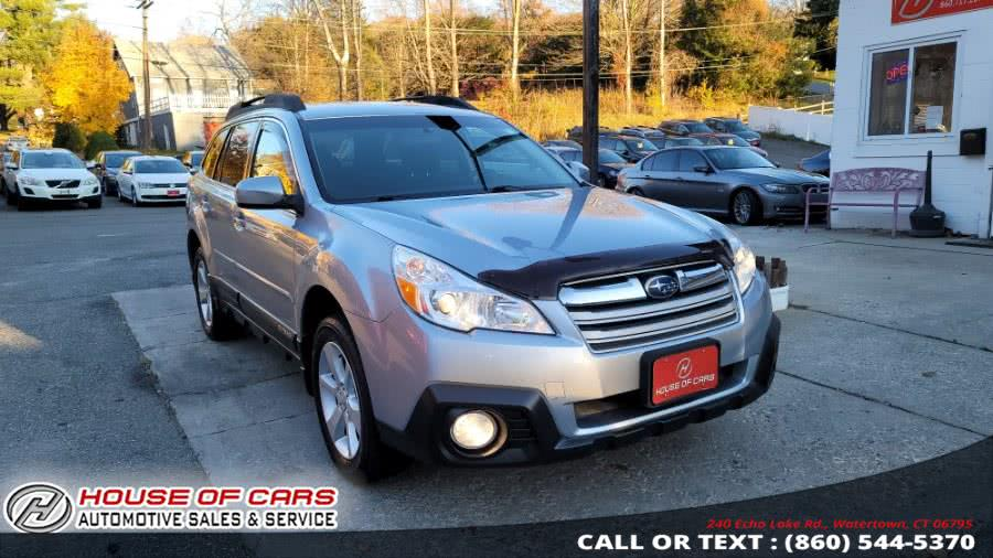 Used Subaru Outback 4dr Wgn H4 Auto 2.5i Premium 2014 | House of Cars. Watertown, Connecticut