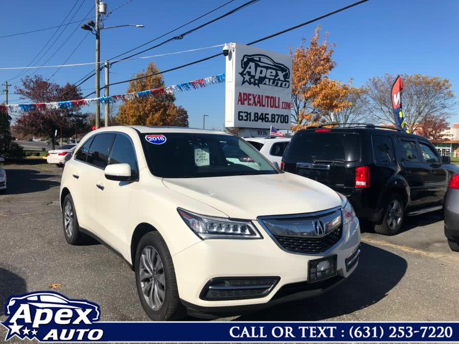 Used 2016 Acura MDX in Selden, New York | Apex Auto. Selden, New York