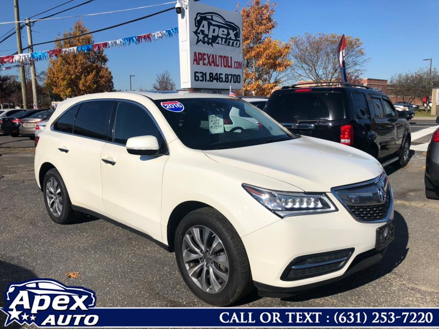 Used Acura MDX SH-AWD 4dr w/Tech/AcuraWatch Plus 2016 | Apex Auto. Selden, New York