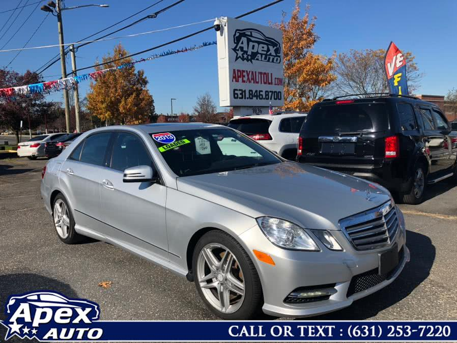 Used Mercedes-Benz E-Class 4dr Sdn E350 Luxury 4MATIC *Ltd Avail* 2013 | Apex Auto. Selden, New York