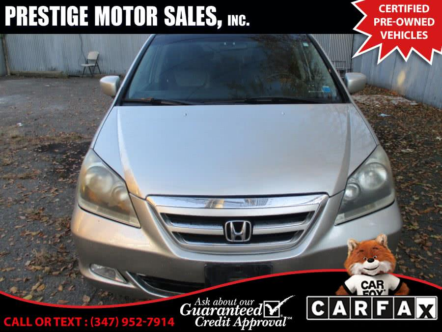 Used 2005 Honda Odyssey in Brooklyn, New York | Prestige Motor Sales Inc. Brooklyn, New York