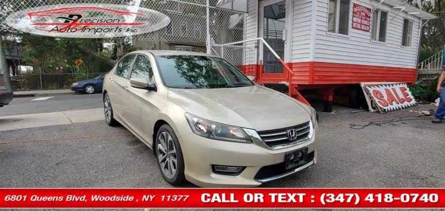 Used Honda Accord Sdn 4dr I4 CVT Sport 2013 | Precision Auto Imports Inc. Woodside , New York