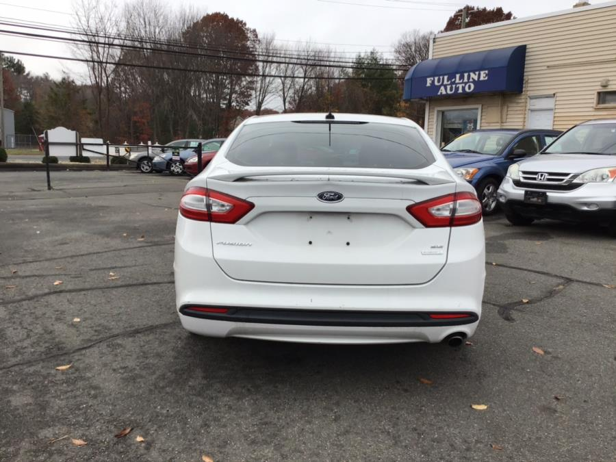Used Ford Fusion 4dr Sdn SE FWD 2013 | Ful-line Auto LLC. South Windsor , Connecticut