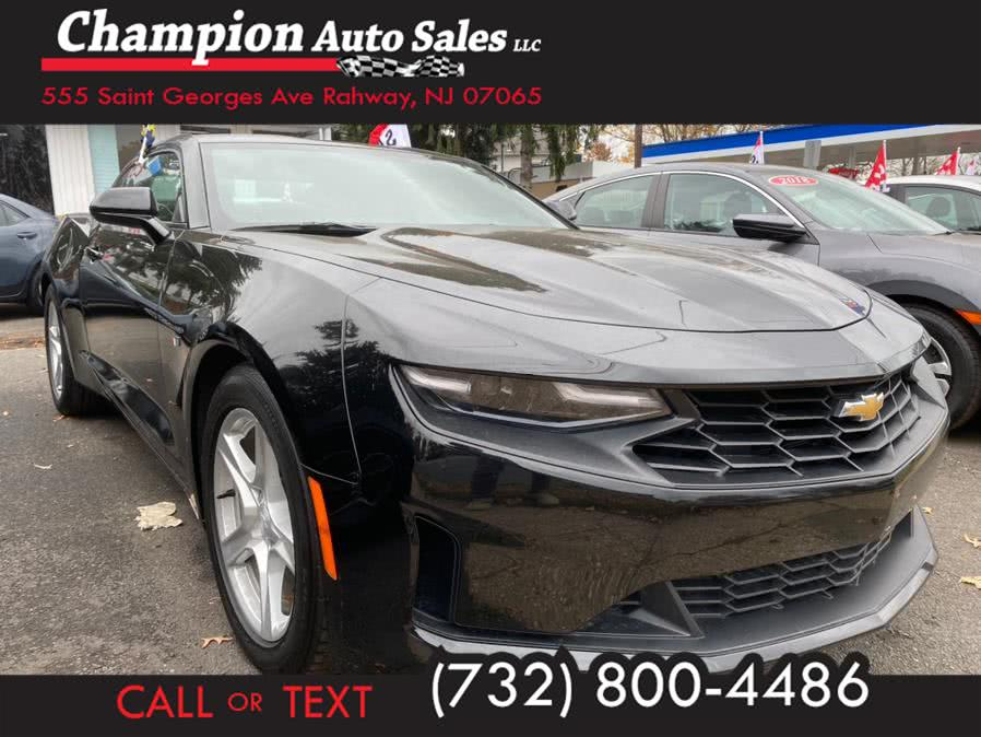 Used 2020 Chevrolet Camaro in Rahway, New Jersey | Champion Auto Sales. Rahway, New Jersey