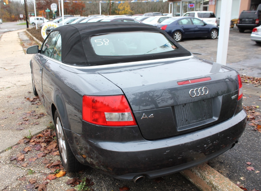 Used Audi A4 2dr Cabriolet 1.8T CVT 2006 | Boss Auto Sales. West Babylon, New York