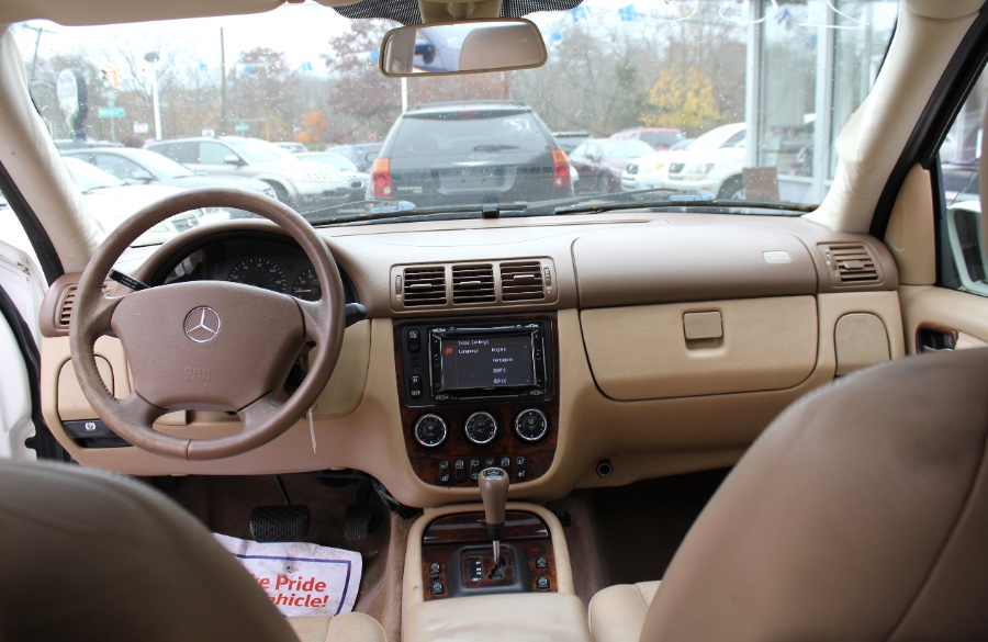 Used Mercedes-Benz M-Class 4dr AWD 3.5L 2003   Boss Auto Sales. West Babylon, New York