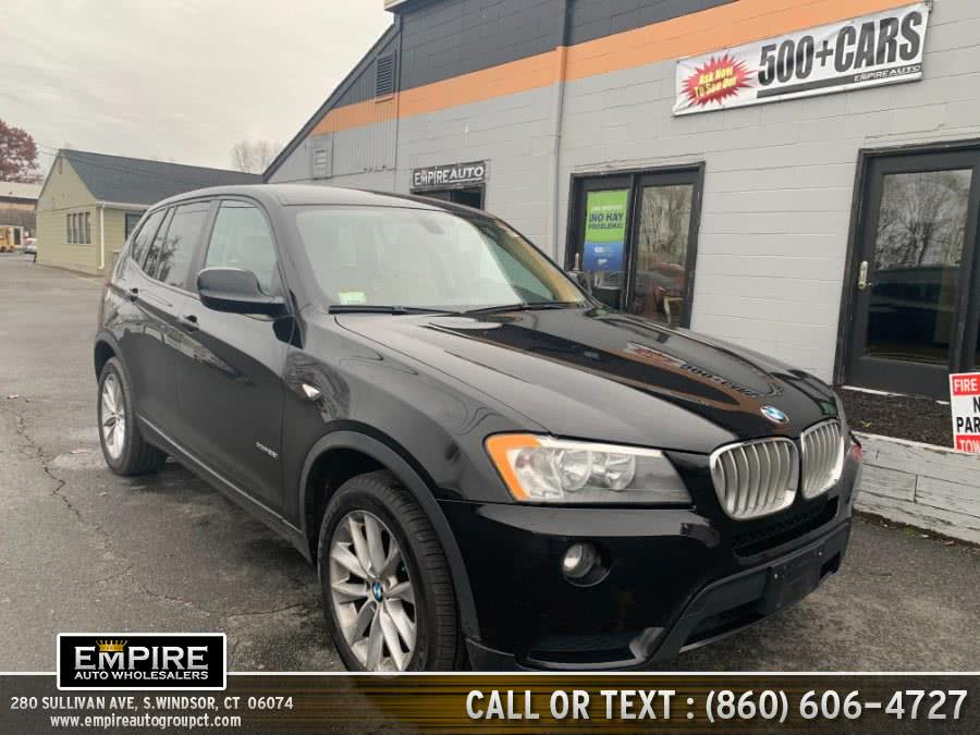 Used BMW X3 AWD 4dr xDrive28i 2013 | Empire Auto Wholesalers. S.Windsor, Connecticut