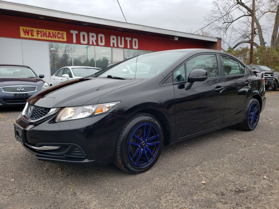 Used 2013 Honda Civic Sdn in East Windsor, Connecticut | Toro Auto. East Windsor, Connecticut