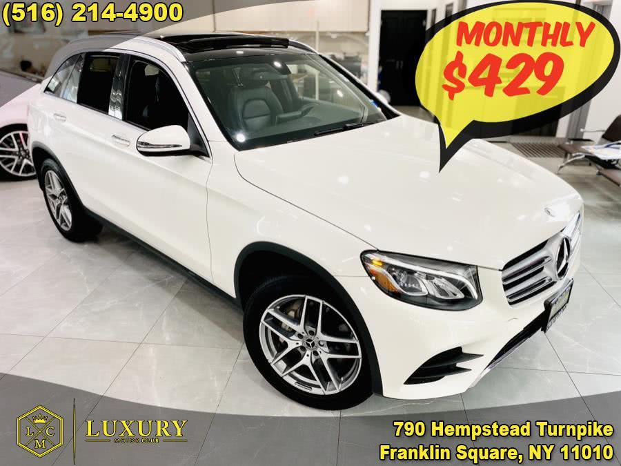 2018 Mercedes-Benz GLC GLC 300 4MATIC SUV, available for sale in Franklin Square, NY