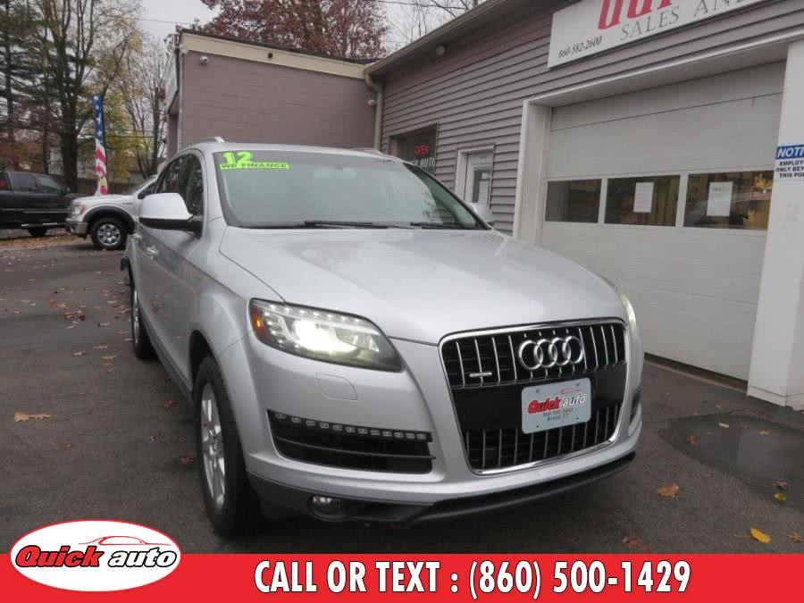 Used 2012 Audi Q7 in Bristol, Connecticut | Quick Auto LLC. Bristol, Connecticut