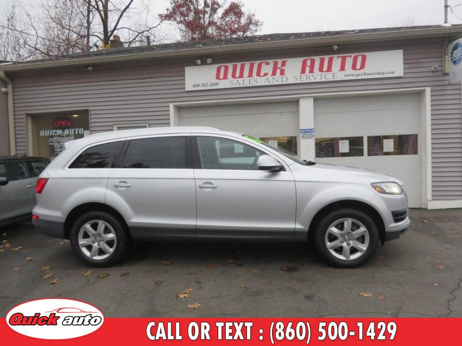 Used Audi Q7 quattro 4dr 3.0T Premium Plus 2012 | Quick Auto LLC. Bristol, Connecticut