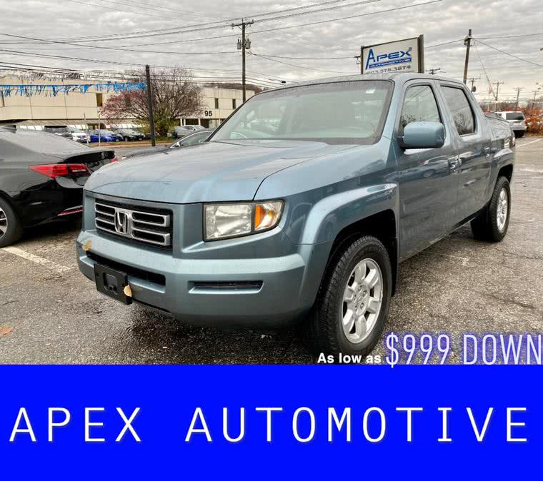 2006 Honda Ridgeline RTL AT with MOONROOF, available for sale in Waterbury, CT