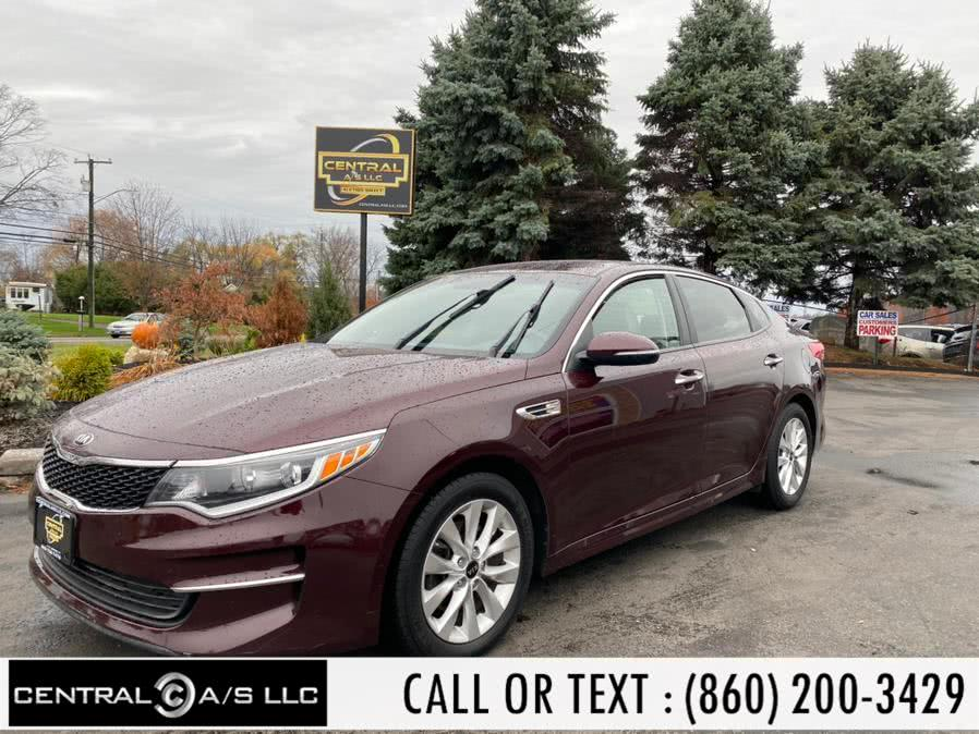 Used 2016 Kia Optima in East Windsor, Connecticut | Central A/S LLC. East Windsor, Connecticut