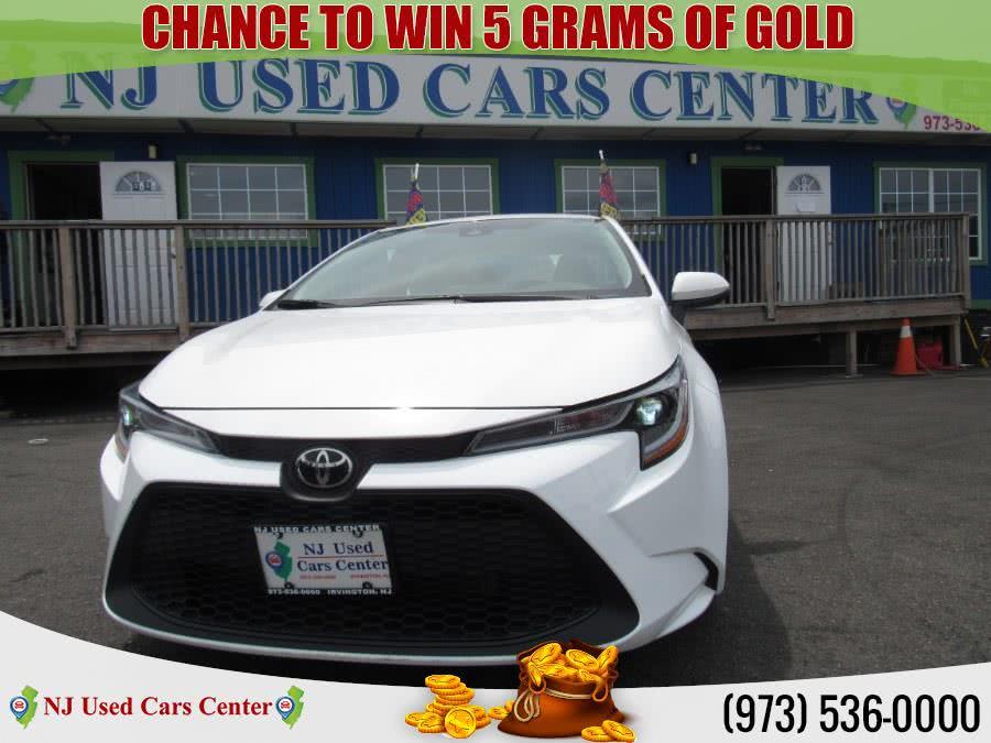 Used 2020 Toyota Corolla in Irvington, New Jersey | NJ Used Cars Center. Irvington, New Jersey