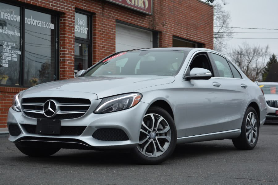 Used 2015 Mercedes-Benz C-Class in ENFIELD, Connecticut | Longmeadow Motor Cars. ENFIELD, Connecticut