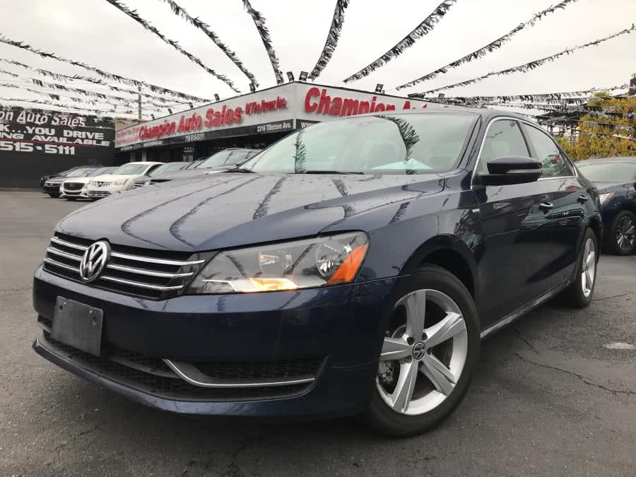 Used 2014 Volkswagen Passat in Bronx, New York | Champion Auto Sales Of The Bronx. Bronx, New York
