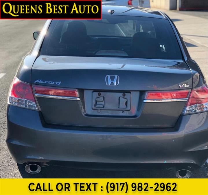 Used Honda Accord Sdn 4dr V6 Auto EX-L 2012 | Queens Best Auto Body / Sales. Hollis, New York