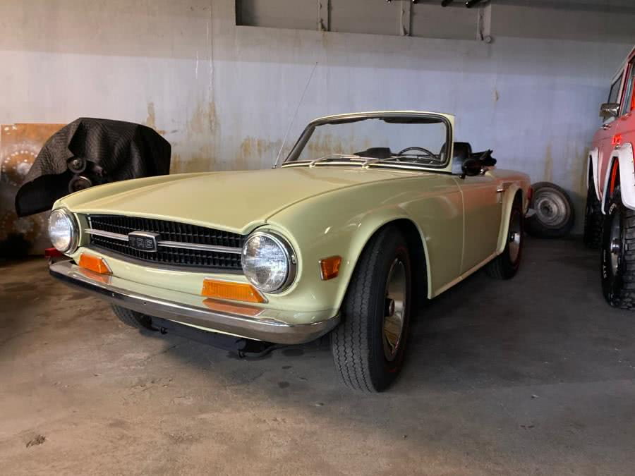 Used Triumph Tr6 2 door 1969 | Tony's Auto Sales. Waterbury, Connecticut