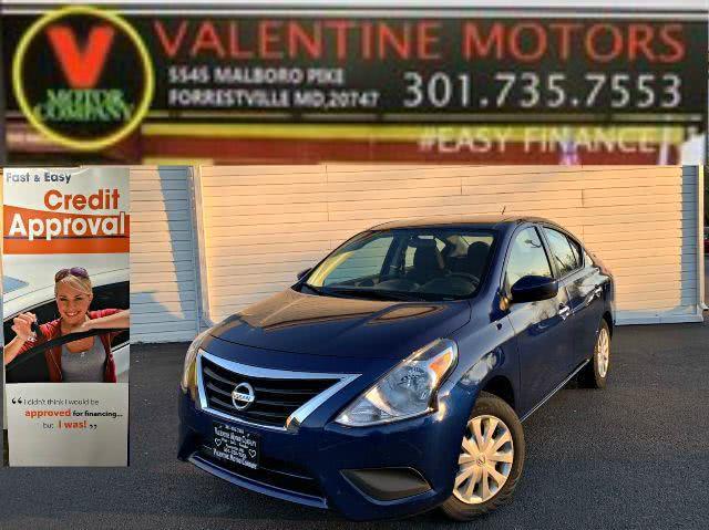Used 2019 Nissan Versa Sedan in Forestville, Maryland | Valentine Motor Company. Forestville, Maryland