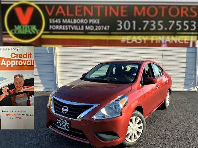 Used 2019 Nissan Versa Sedan in Forestville, Maryland | Valentine Motor Company. Forestville, Maryland