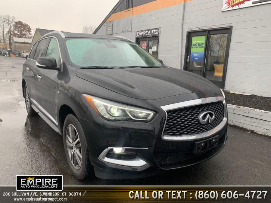 Used INFINITI QX60 PURE AWD 2019 | Empire Auto Wholesalers. S.Windsor, Connecticut