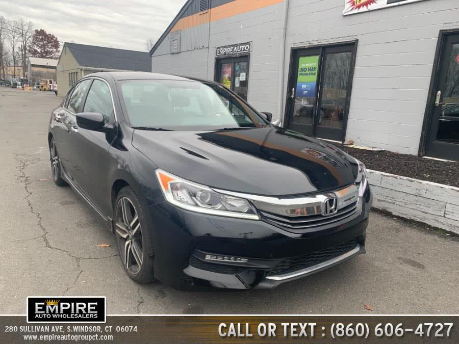 Used Honda Accord Sedan Sport SE CVT 2017 | Empire Auto Wholesalers. S.Windsor, Connecticut