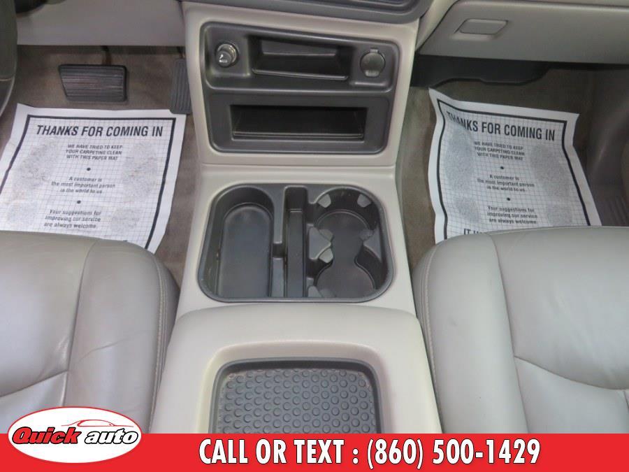 Used Chevrolet Suburban 4dr 1500 4WD LT 2005   Quick Auto LLC. Bristol, Connecticut