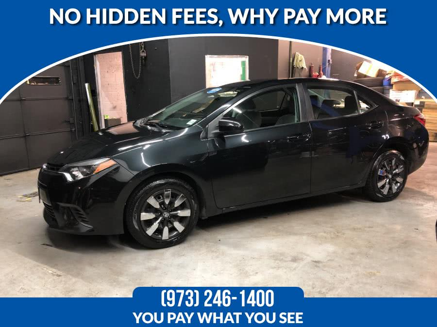 Used 2016 Toyota Corolla in Lodi, New Jersey | Route 46 Auto Sales Inc. Lodi, New Jersey