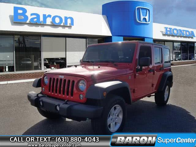 Used 2017 Jeep Wrangler Unlimited in Patchogue, New York | Baron Supercenter. Patchogue, New York