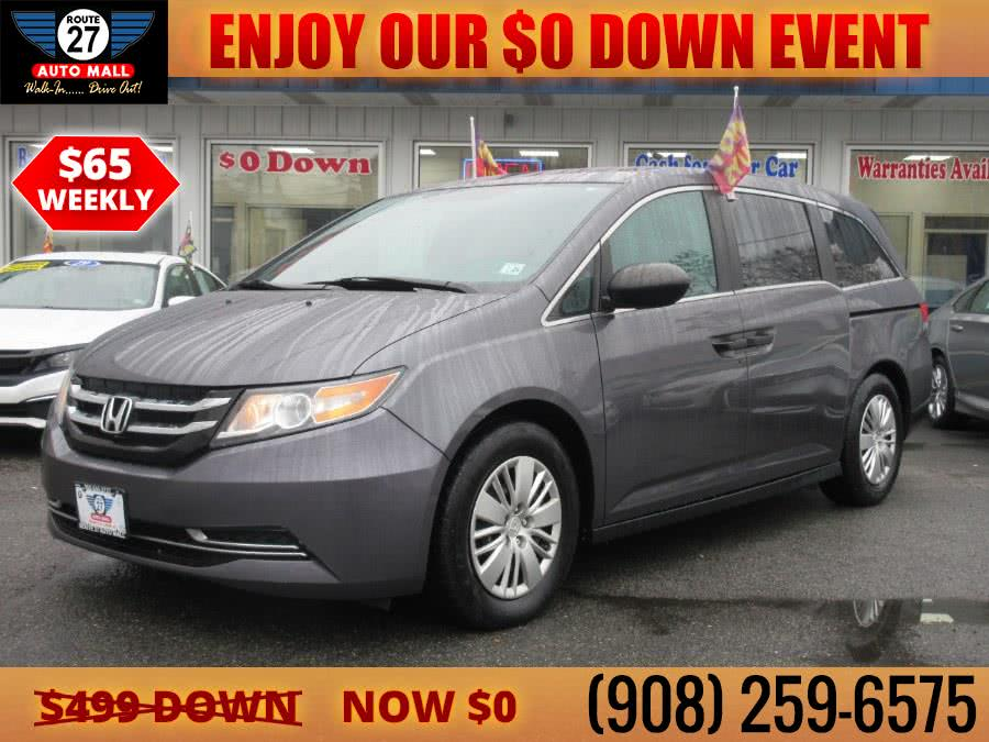 Used 2016 Honda Odyssey in Linden, New Jersey | Route 27 Auto Mall. Linden, New Jersey