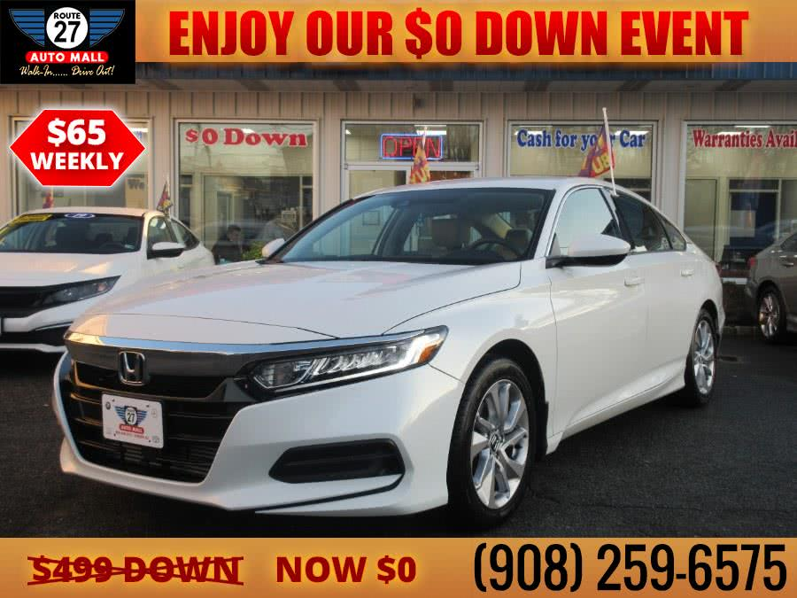 Used 2019 Honda Accord Sedan in Linden, New Jersey | Route 27 Auto Mall. Linden, New Jersey