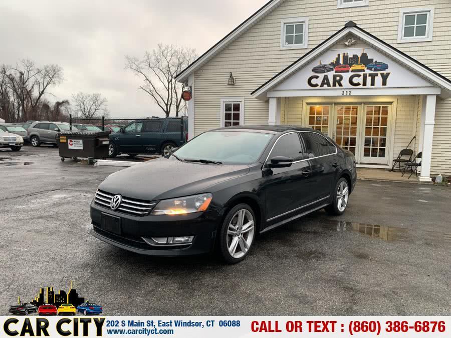 Used Volkswagen Passat 4dr Sdn 1.8T Auto SE w/Sunroof & Nav PZEV 2015 | Car City LLC. East Windsor, Connecticut