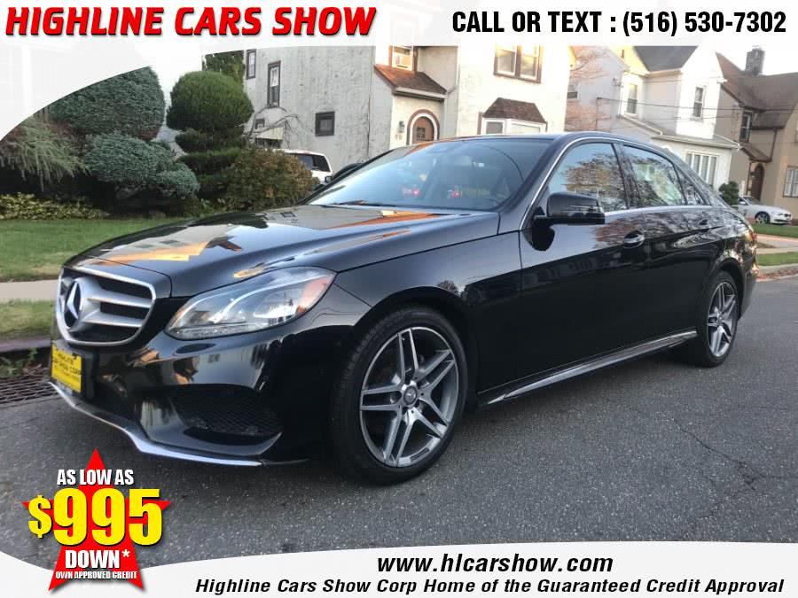 Used Mercedes-Benz E-Class 4dr Sdn E350 Sport 4MATIC 2014 | Highline Cars Show Corp. West Hempstead, New York