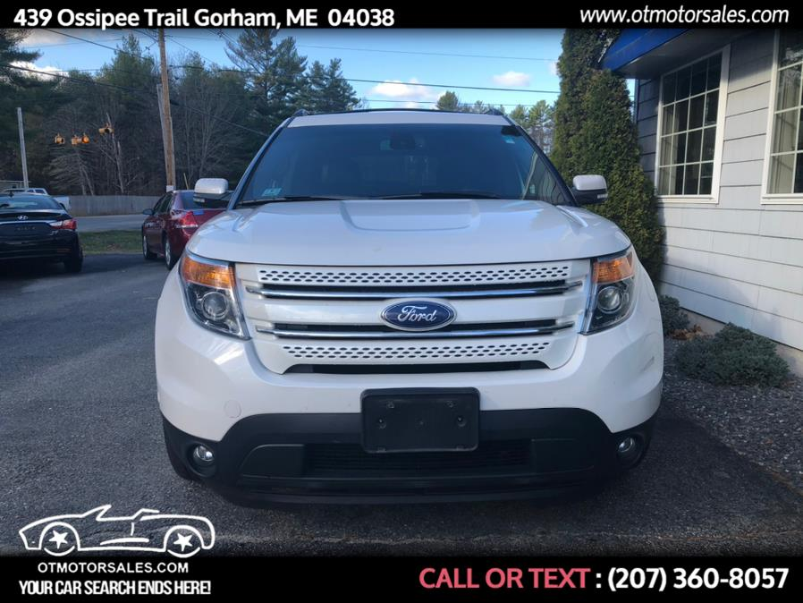 Used Ford Explorer 4WD 4dr Limited 2013   Ossipee Trail Motor Sales. Gorham, Maine