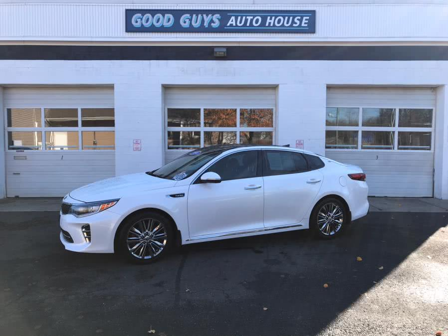 Used 2016 Kia Optima in Southington, Connecticut | Good Guys Auto House. Southington, Connecticut