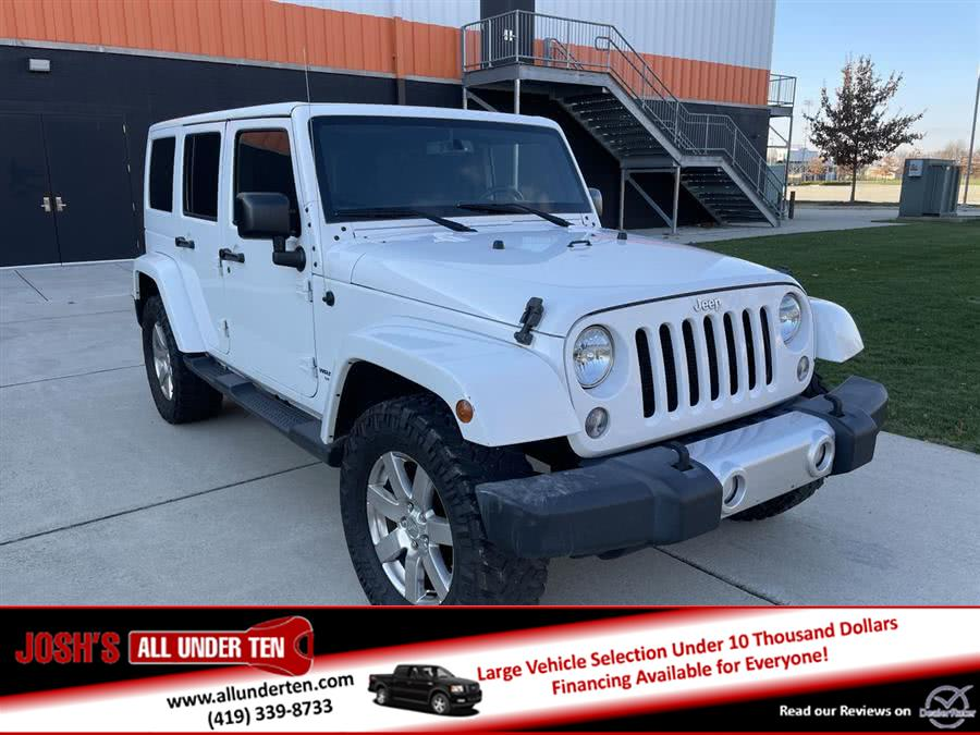 Used 2015 Jeep Wrangler Unlimited in Elida, Ohio | Josh's All Under Ten LLC. Elida, Ohio