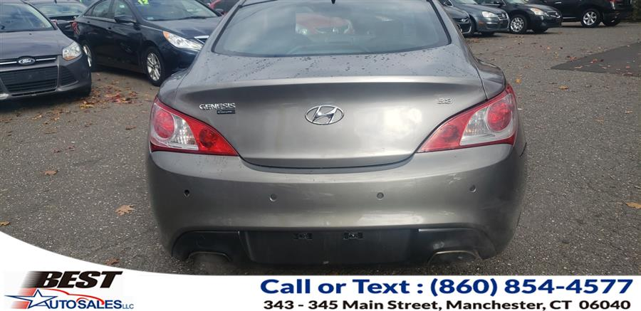 Used Hyundai Genesis Coupe 2dr 3.8L Auto Grand Touring w/Blk Lth 2011 | Best Auto Sales LLC. Manchester, Connecticut