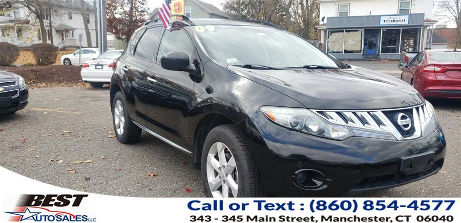 Used Nissan Murano AWD 4dr SL 2009 | Best Auto Sales LLC. Manchester, Connecticut
