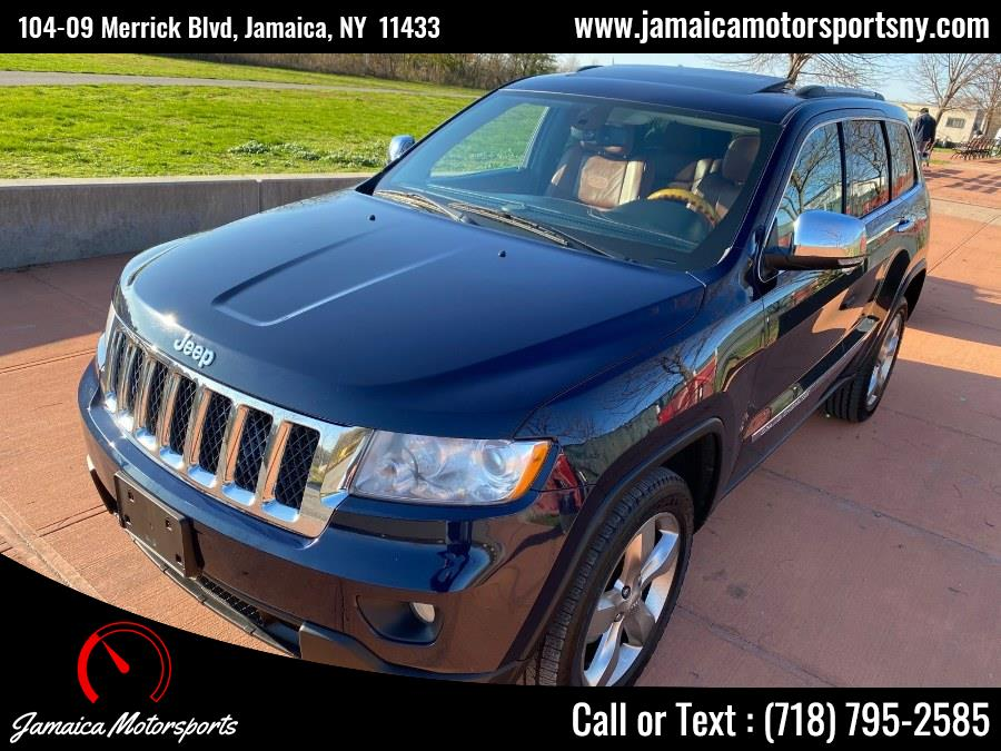 Used Jeep Grand Cherokee 4WD 4dr Overland 2013 | Jamaica Motor Sports . Jamaica, New York