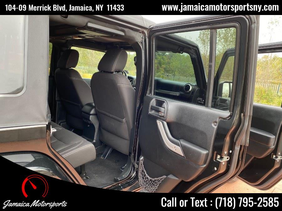 Used Jeep Wrangler Unlimited 4WD 4dr Sahara 2015 | Jamaica Motor Sports . Jamaica, New York